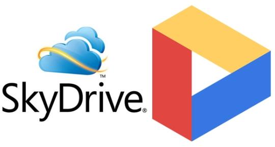sky drive google drive