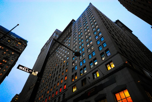 Data center Wall Street
