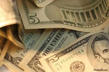 Billetes de 5 dolares