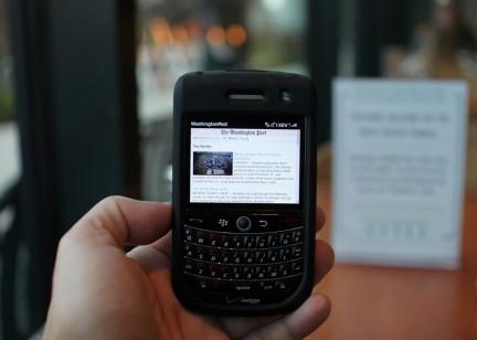 Godaddy app blackberry