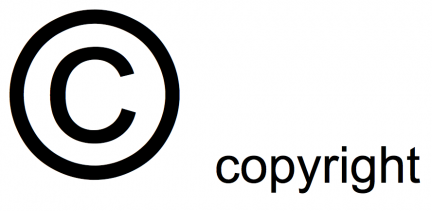 Copyright rights reserved logo
