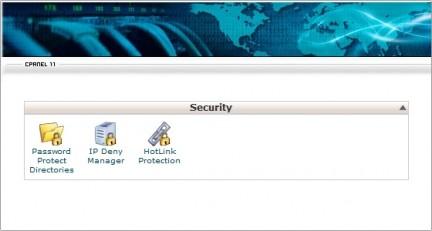 Herramientas de Seguridad cPanel