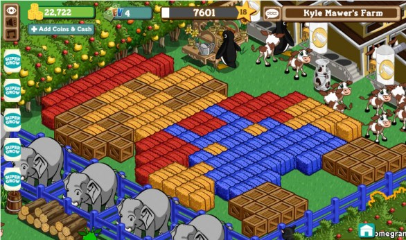 Farmville de Facebook en moviles