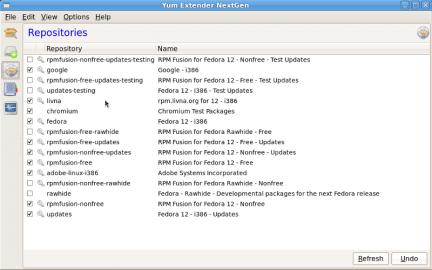 Instalación repositorios fedora linux