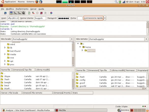 Filezilla Cliente FTP gratuito