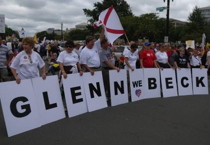 Glenn Beck manifestacion