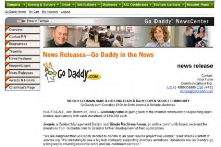 Go Daddy Web