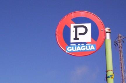 Gugua en la carretera