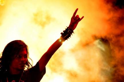 Metal musica dominio