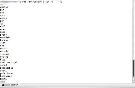 Lista de usuarios Linux