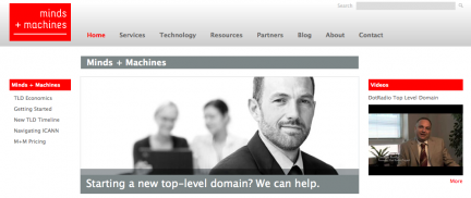 Minds + Machines gTLDs