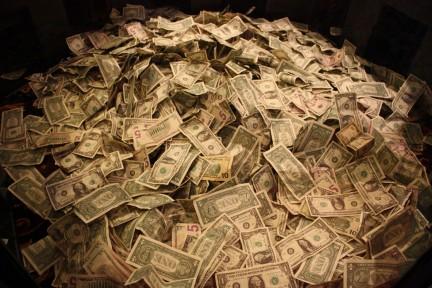 Montaña de dinero