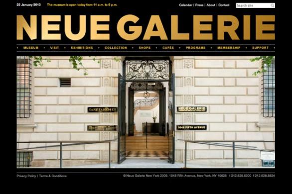Neue Gallery nombres de dominios