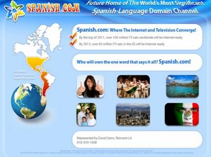 web de spanish.com