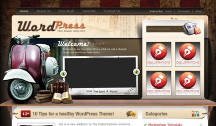 Tema WordPress basico