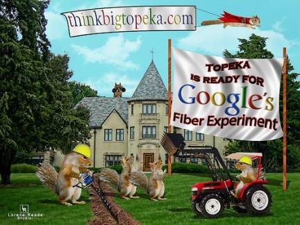 Google topeka fibra optica