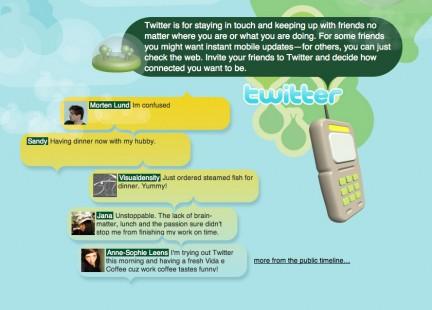 Twitter demo
