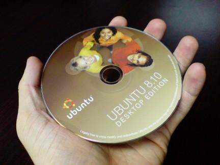 Cd de Ubuntu Linux