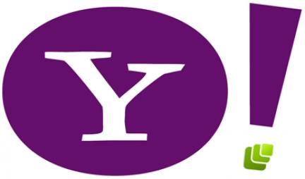 Logo minimalista de Yahoo