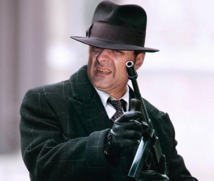 gangster con armas