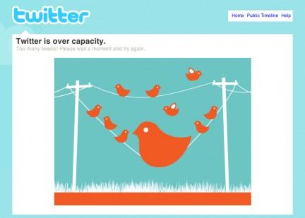 Twitter esta saturado