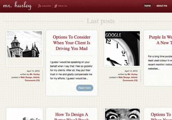 Diseños HTML 5 gratuitos