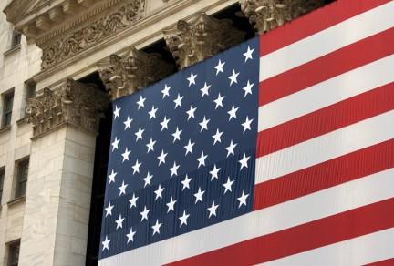 Imagen de la bandera norteamericana