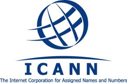 Imange del logo de la ICANN