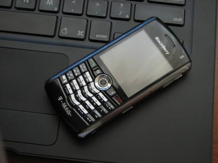 Imagen de una Blackberry
