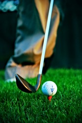 Imagen de golfista