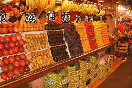 Imagen de un mercado