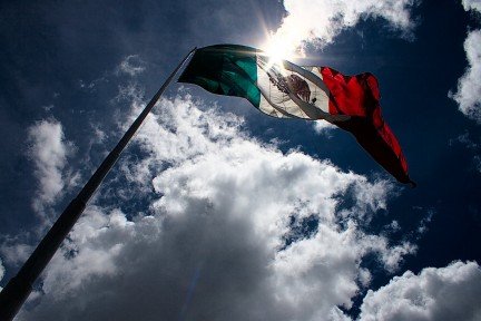 Imagen de la bandera de México